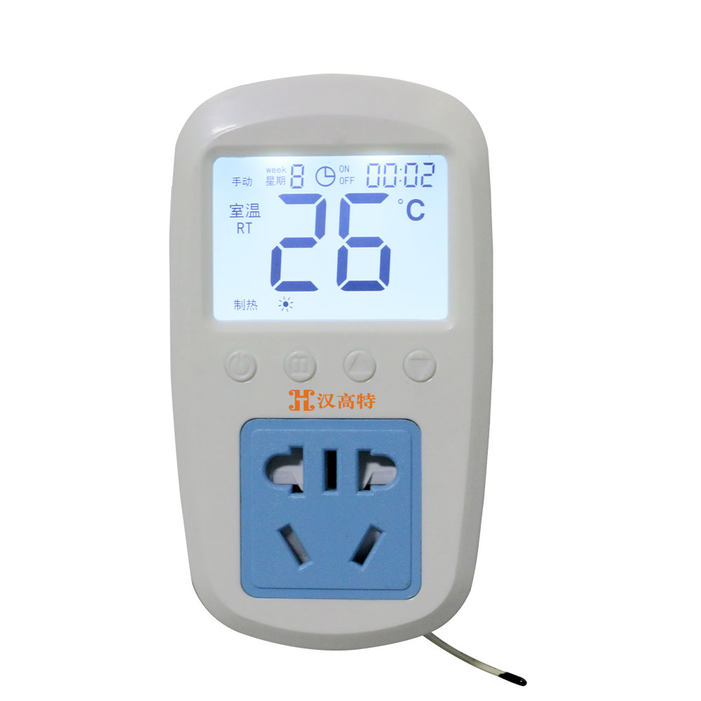 Wall heating remote control thermostat