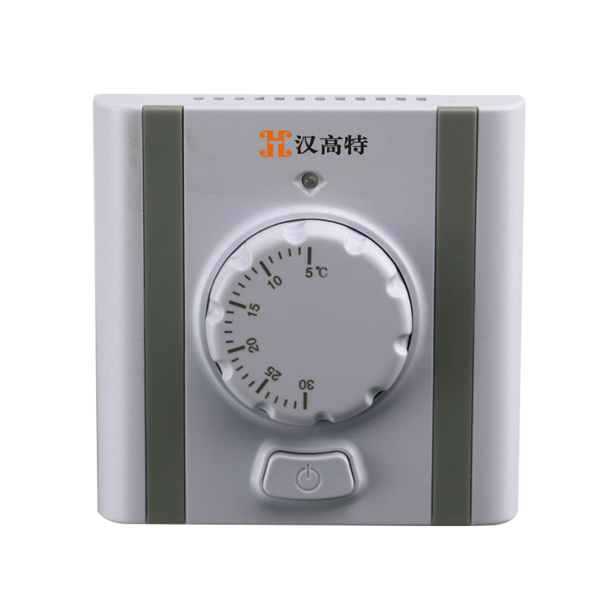Mechanical knob thermostat