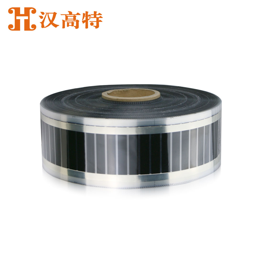 Eaves snow melting electric film